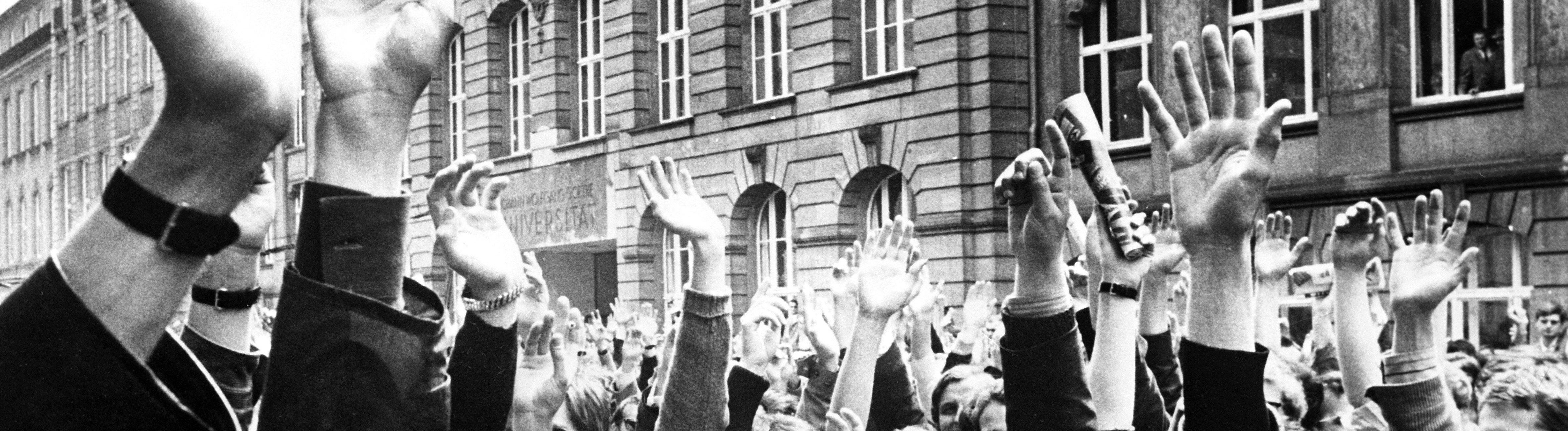 Studentenunruhen Frankfurt
