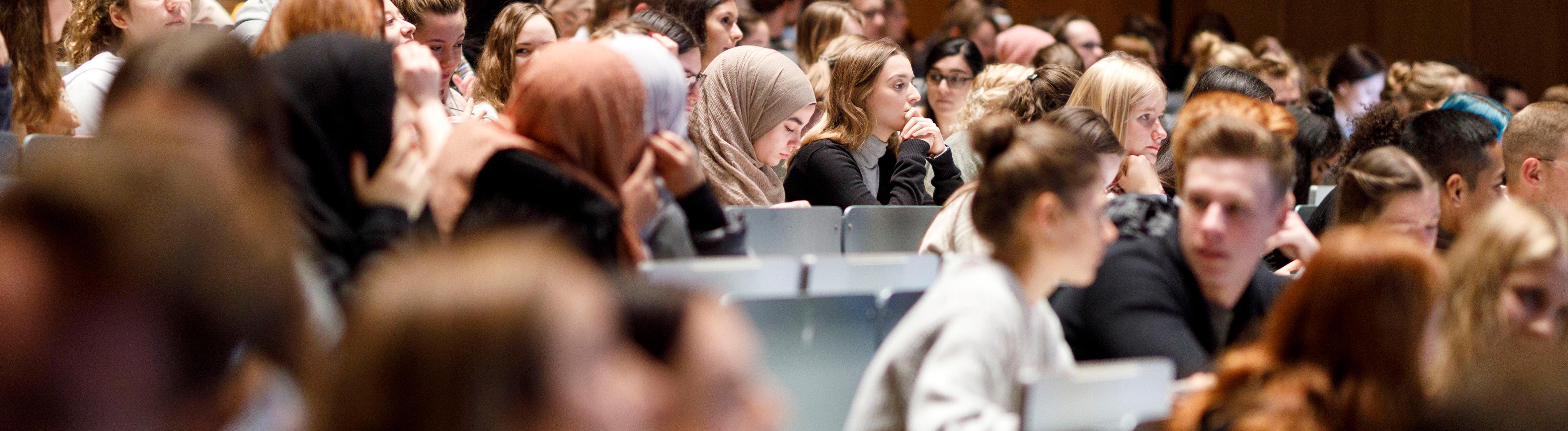 Erstsemester-Begrüßung an der Universität zu Köln.
