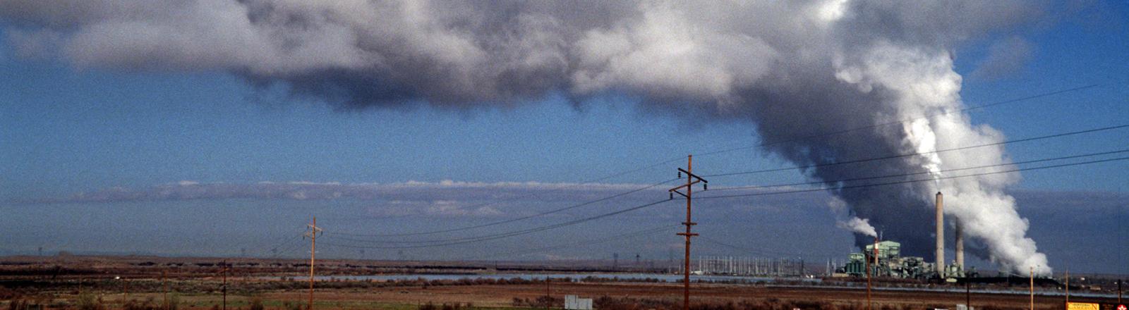Ein Kohlekraftwerk im US-Bundesstaat Arizona