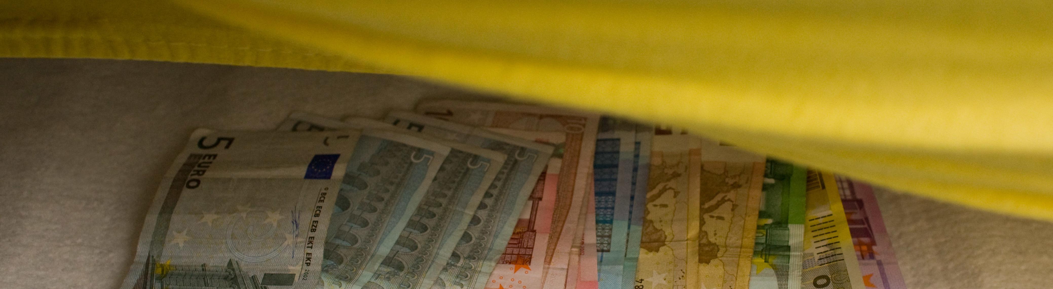 Geld Matratze
