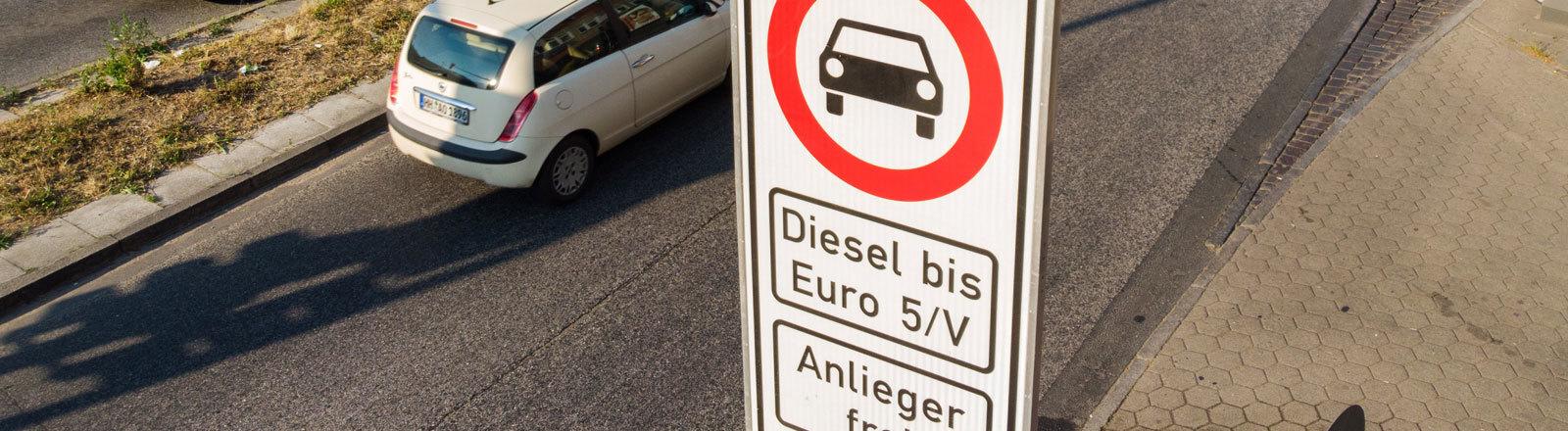 Diesel-Fahrverbot in Hamburg