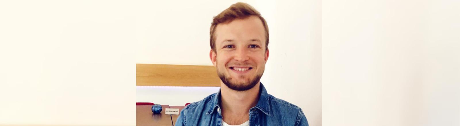 Arbeitspsychologe Benedikt Ewald.