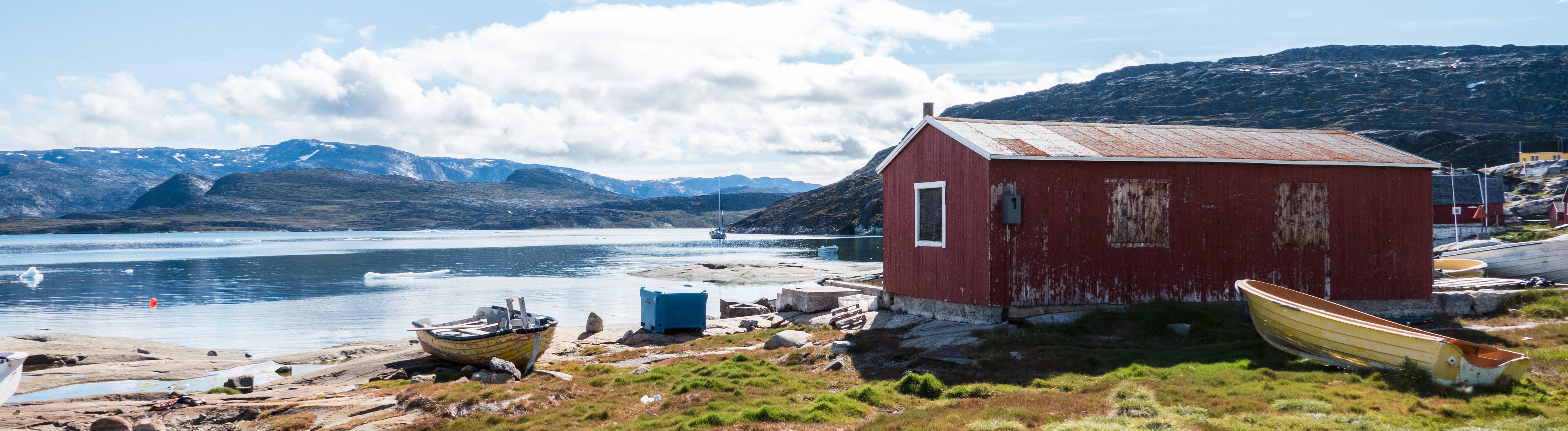 Grönland im Sommer