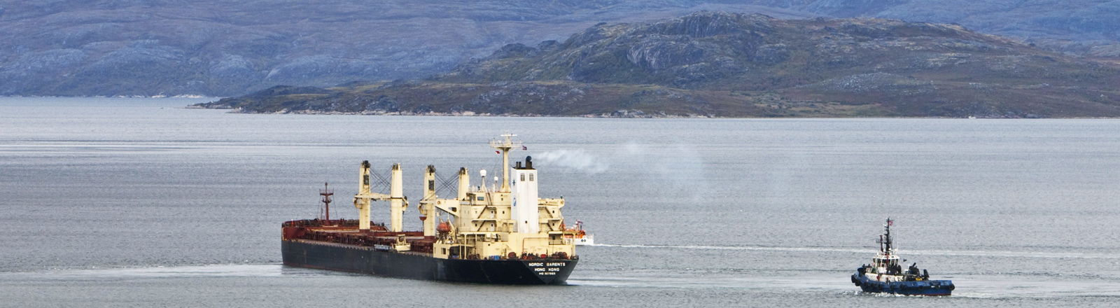 Ein Schiff auf der Nordostpassage
