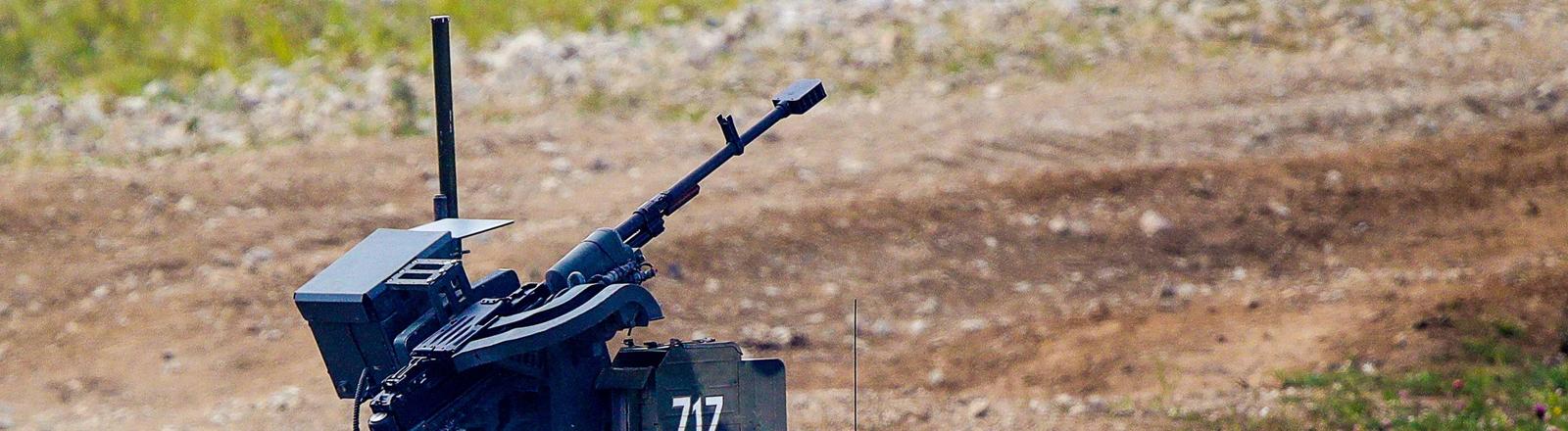 Kampfroboter der russischen Armee