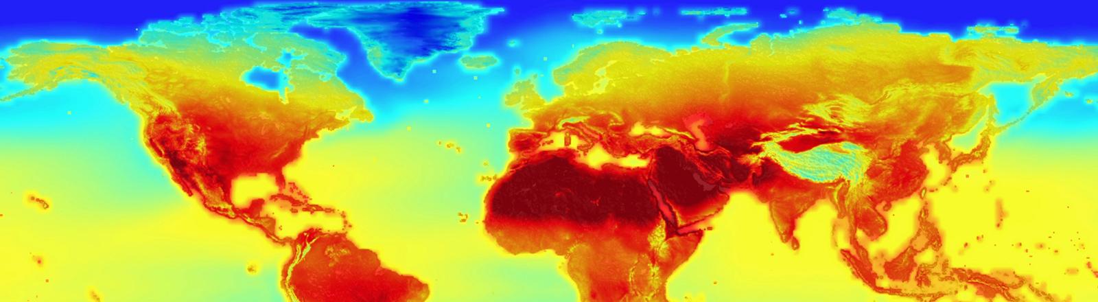 Nasa-Projektion zum Klimawandel