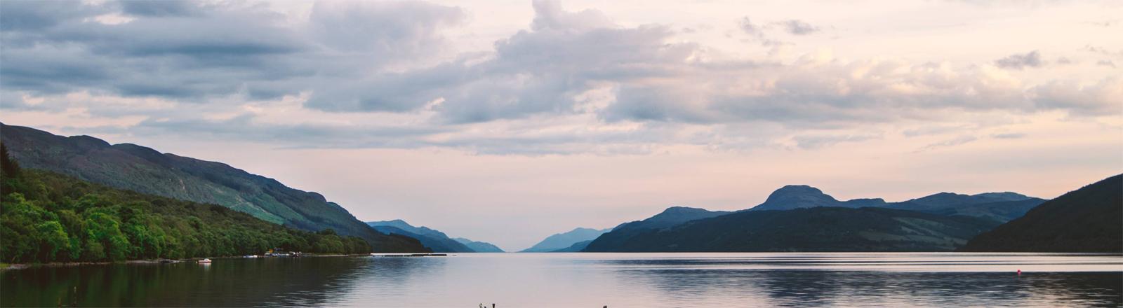 Kein Monster: Loch Nessin Schottland