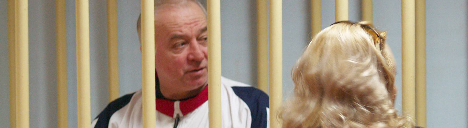 Sergej Skripal in einem russischen Gericht 2006