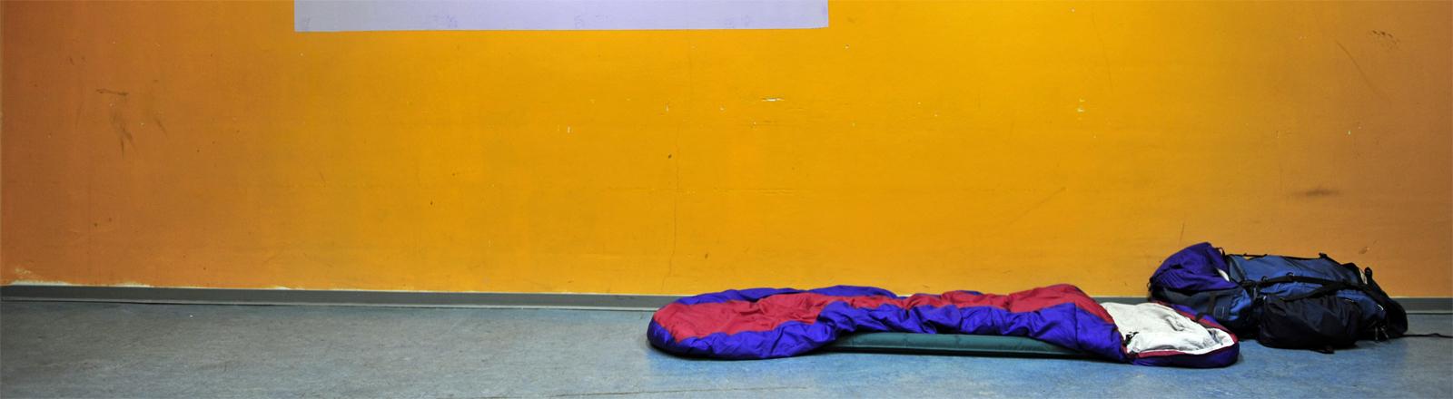 Notschlafstelle für Studenten im Jahr 2011 in Frankfurt am Main