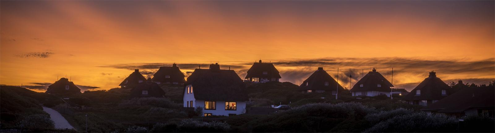 Privilegierte Wohnsituation: Wohnhäuser auf der Insel Sylt
