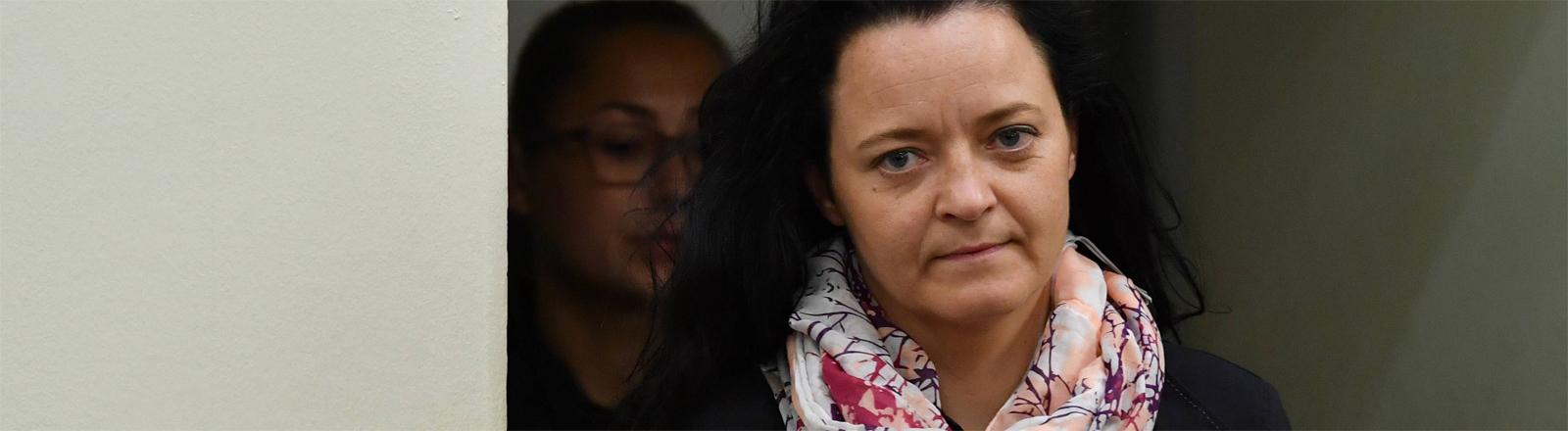 Beate Zschäpe am 5. Juni 2018 im Verhandlungssaal