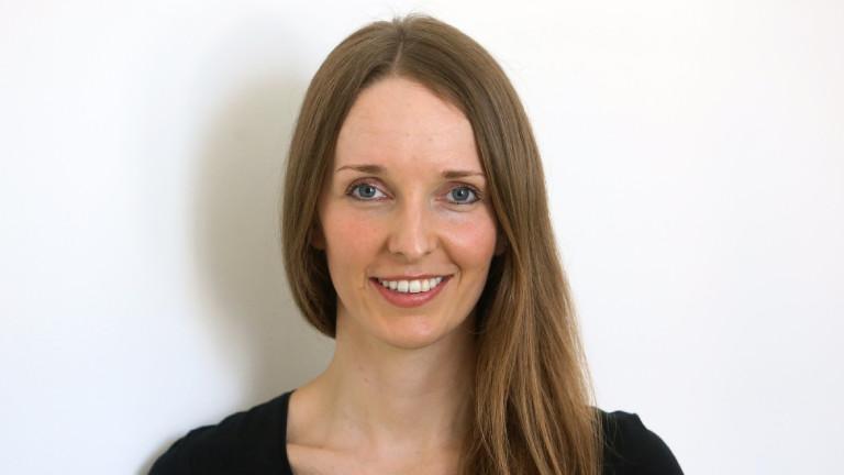 Die Unternehmerin Anna Kaiser, aufgenommen 2015