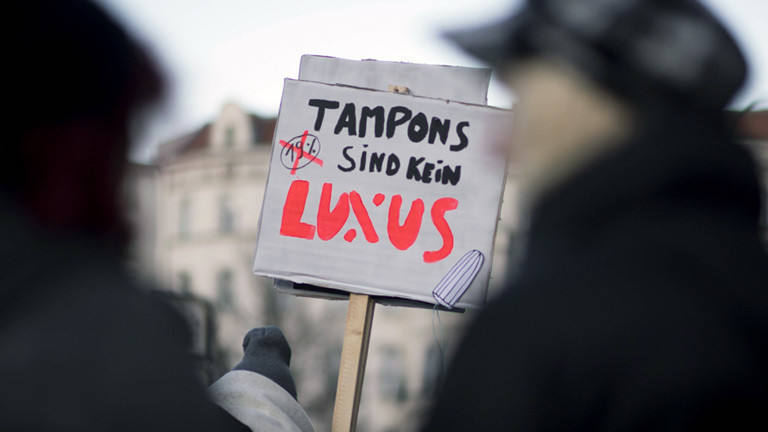 tampons steuer