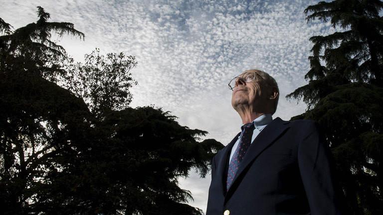 Physiker James Peebles erhält Nobelpreis 2019 (Foto: Madrid 2015)