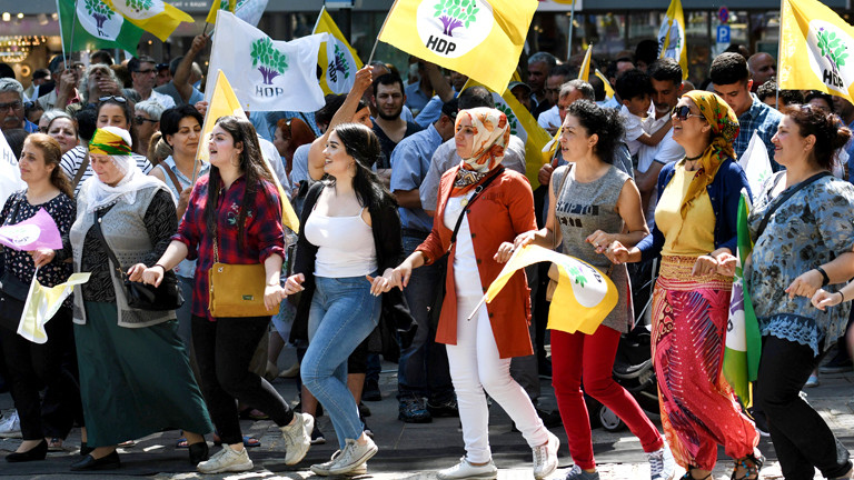 HDP Anhängerinnen in Köln
