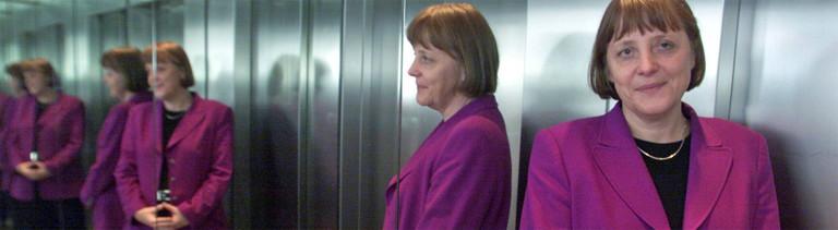 Angela Merkel CDU-Generalsekretärin am Dienstag 29. Februar 2000 - zur CDU-Bundesvorsitzenden wurde sie am 10. April 2000 gewählt