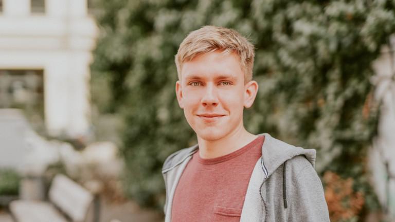 Philipp Rubach, kandidiert in Nordsachsen