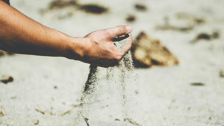 Sand am Sound erkannt