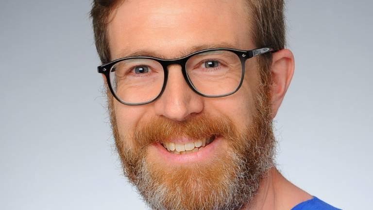 Portrait von Intensivpfleger Michael Groß