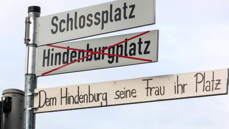 Straßenumbenennung