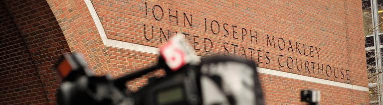 Das Gerichtsgebäude, in dem in Boston, der Prozess gegen den Attentäter vom Boston Marathon verhandelt wird.