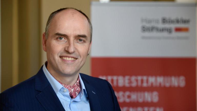 Ökonom und Arbeitsmarktexperte Alexander Herzog-Stein von der Hans Böckler Stiftung