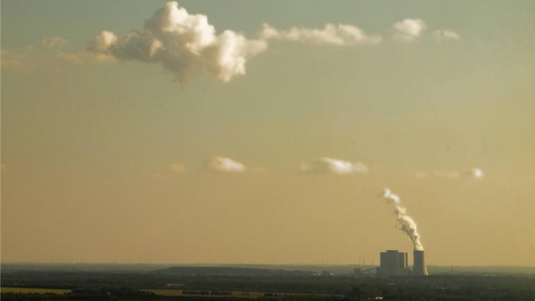Kohlekraftwerk im sächsischen Lippendorf