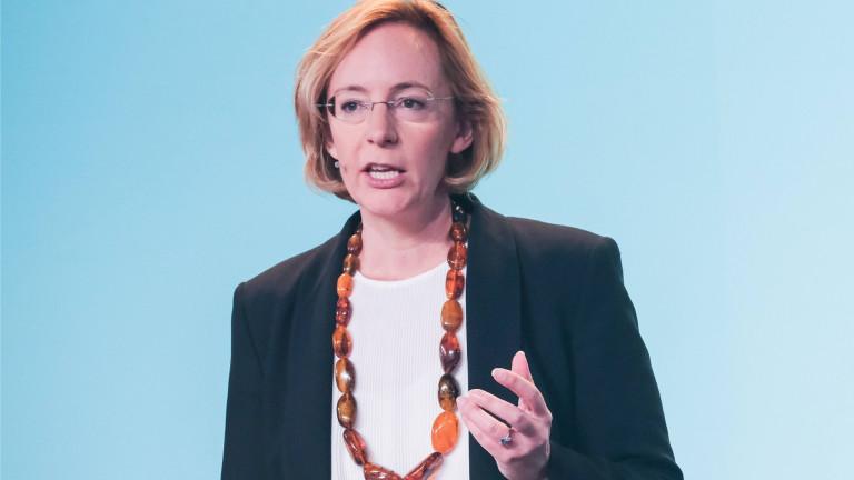 Sarah Spiekermann bei der europäischen Digitalkonferenz re:publica im Jahr 2019 in Berlin