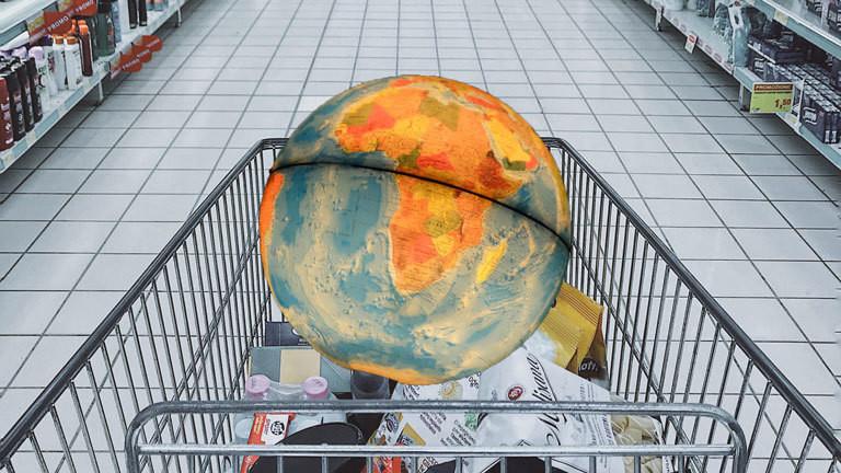 Einkaufen mit gutem Gewissen für die Welt.