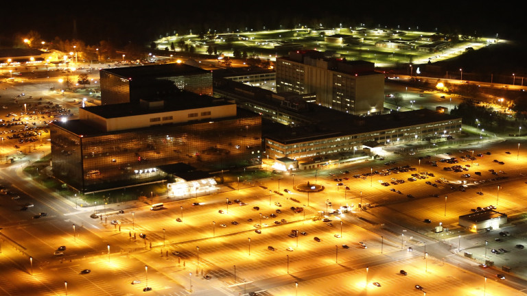 Die Zentrale des US-Geheimdienstes NSA in Fort Meade, Maryland