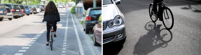 Radfahrer brauchen Abstand und müssen Abstand halten