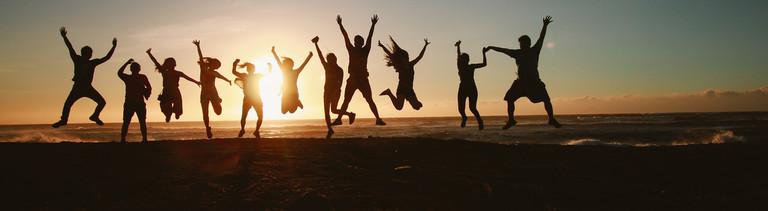 Glück ist kein Dauerzustand, eher eine Achterbahnfahrt