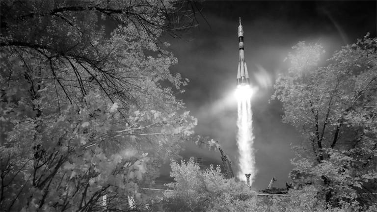 Und ab zur ISS: Start der Rakete mit der Sojus-Kapsel am 6. Juni 2018