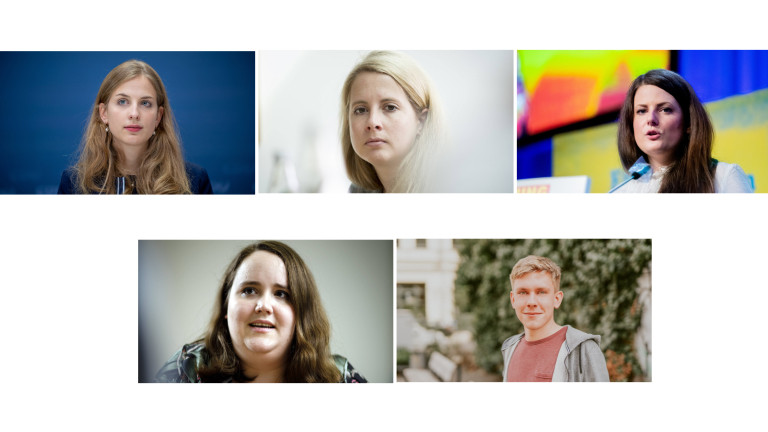 Wiebke, Verena, Ann Cathrin, Ricarda und Philipp