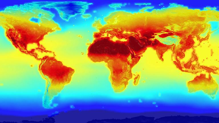 Nasa stellt Projektion zum Klimawandel ins Netz
