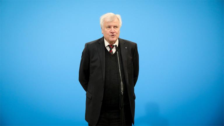Der neue Innen- und Heimatminister: Horst Seehofer
