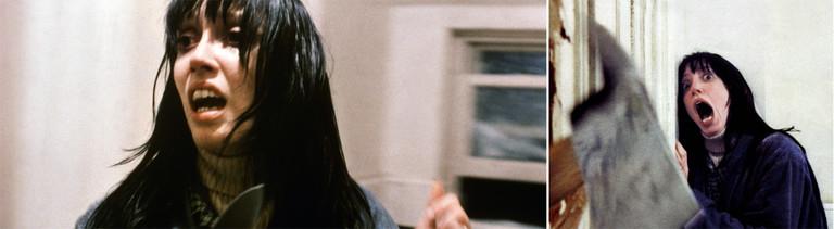 """Shelley Duvall in Stanley Kubricks """"The Shining"""" von 1980"""