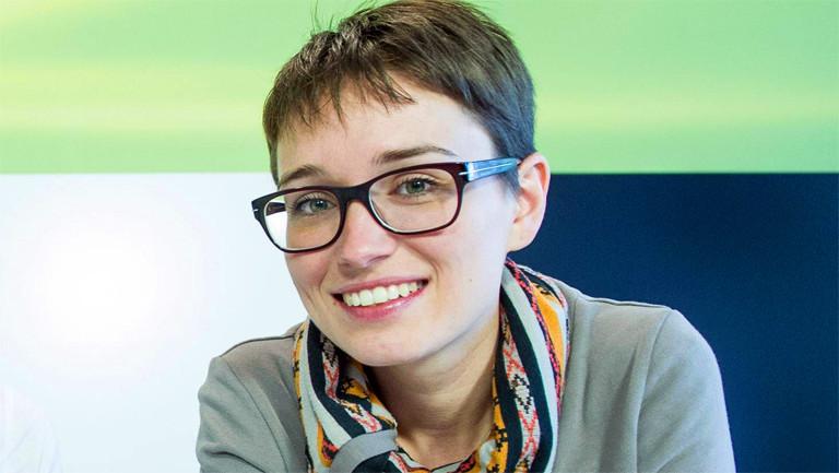 Die österreichisches Ex-Abgeordnete Sigrid Maurer - hier im Jahr 2013