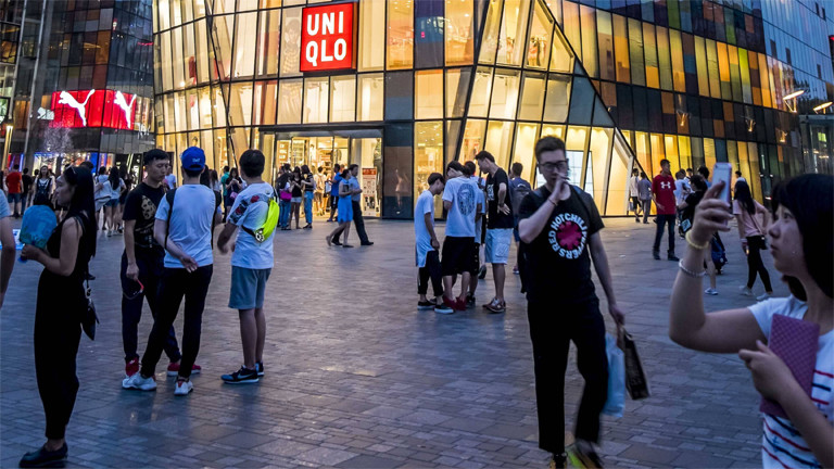 Uniqlo-Shop in China