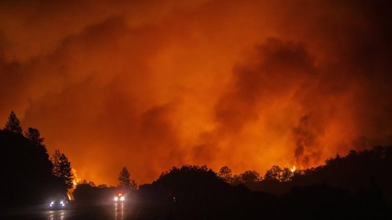 Waldbrände in den USA an der Westküste