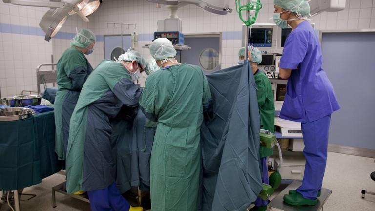 Nierentransplantation in einer Klinik in NRW am 03.08.2010 .