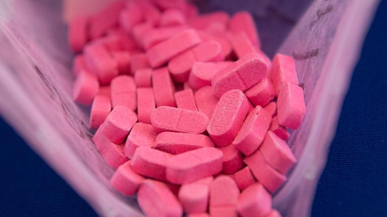 Pinke Ecstasy-Pillen