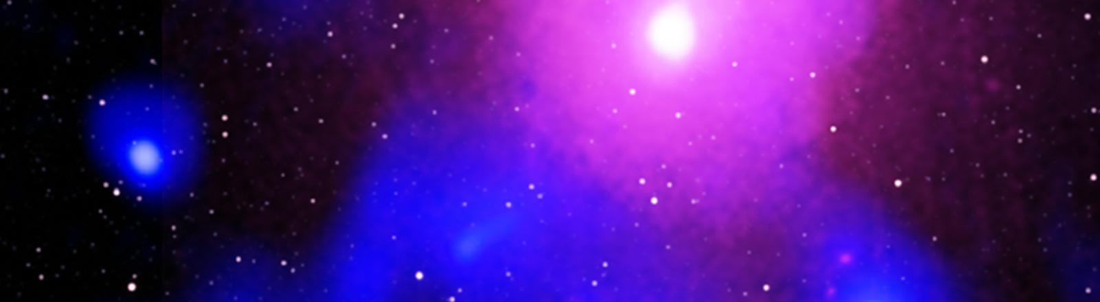 Ophiuchus Galaxie grafisch dargestellt