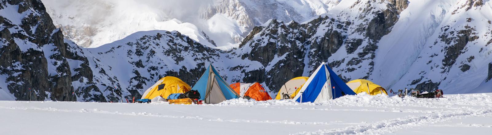 Zelt-Camp am Denali