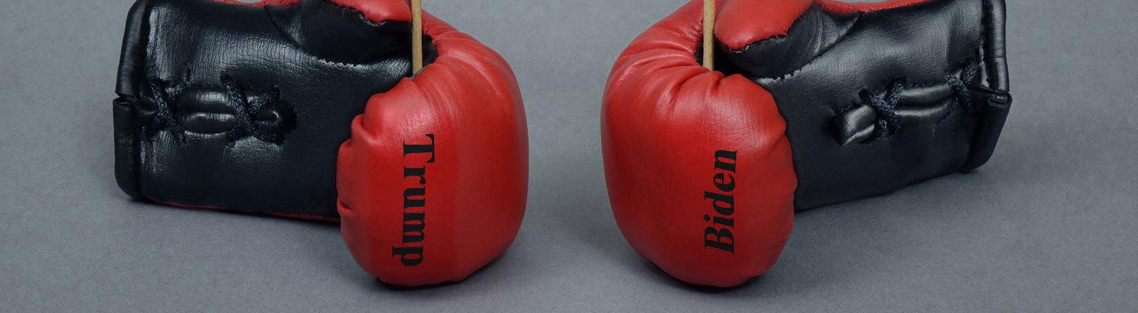 Zwei Boxhandschuhe