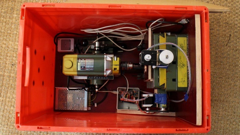 CNC-Fräse selbst gebaut