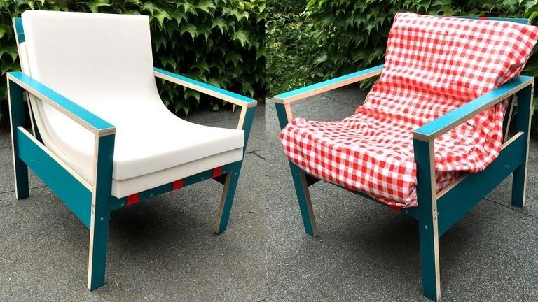 Zwei 24€-DIY-Sessel