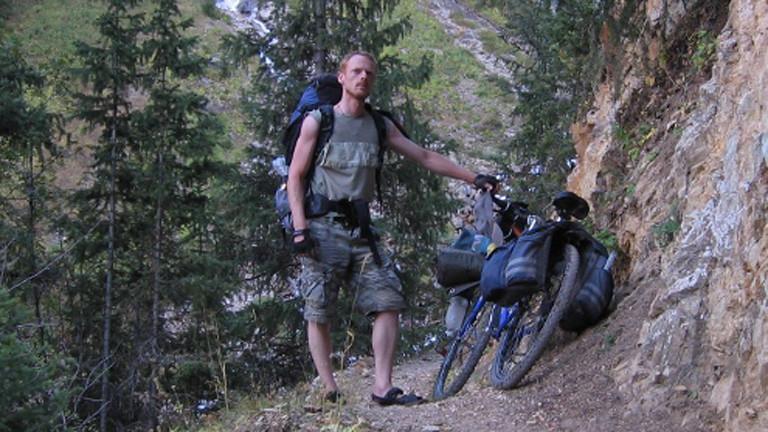 Richard Löwenherz im Sommer 2012 in Kirgistan
