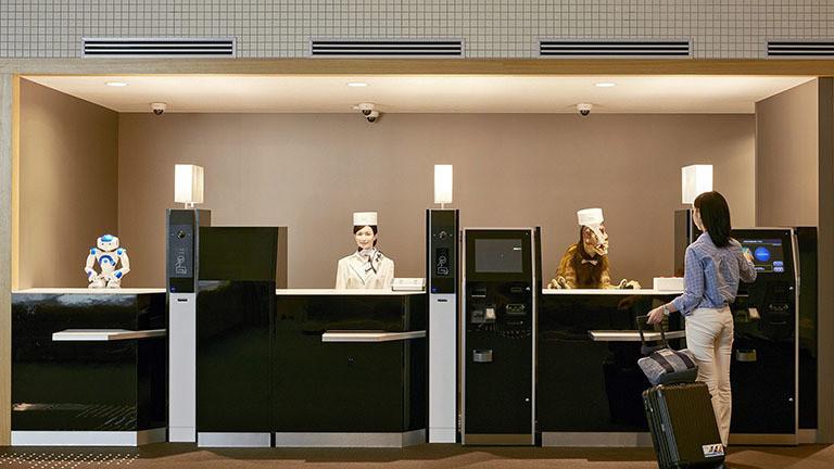 Japanisches Roboterhotel schmeißt Roboter raus