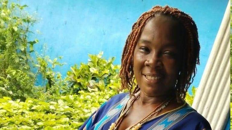 Tinas Schwiegermutter Mamí in Liberia